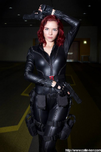 Shiiva Cosplay as Black Widow