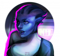 Liara T'Soni from Projectnelm