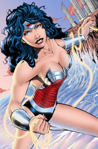 Wonder Woman from archaeopteryx14