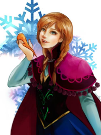 Anna of Arendelle from Heartless-me