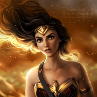 Wonder Woman from Daniel Kordek