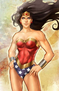 Wonder Woman from Anne Cain