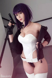 Adami Langley as Motoko Kusanagi