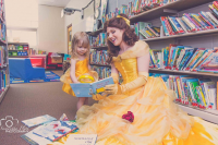 Analeigh Cosplay as Belle, unknown artist as Belle