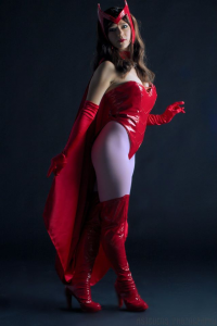 Holly Gloha as Scarlet Witch