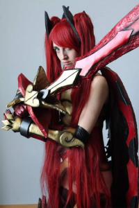 Ray Grey Cosplay as Erza Scarlet