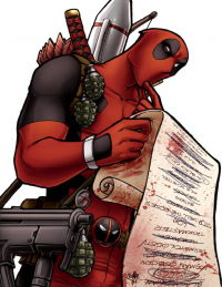 Deadpool von Comfort Love