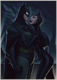 Catwoman, Batman from Leandrofranci