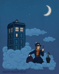 Mary Poppins, TARDIS from Karen Hallion