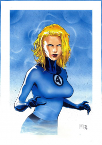 Sue Storm from Fabio Dauria