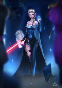 Elsa of Arendelle/Sith from raiko @ FX Canada