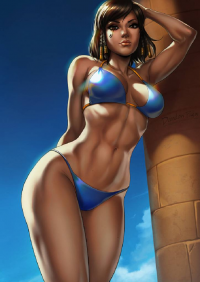 Pharah from Dandonfuga