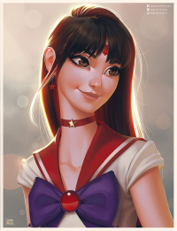 Sailor Mars from Leandrofranci