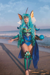 Lady Malice Cosplay as Vaporeon