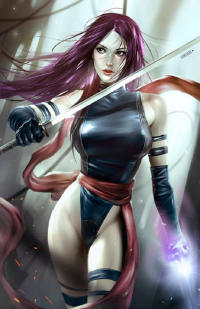 Psylocke from Alex Malveda
