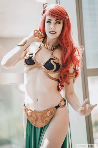 Maid of Might Cosplay as Ariel/Slave