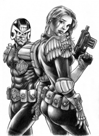 Judge Dredd from Huy Truong