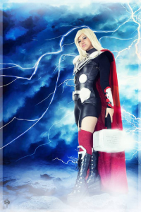 Mandy M as Thor