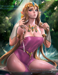 Princess Zelda from Sakimi Chan