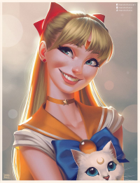 Sailor Venus from Leandrofranci