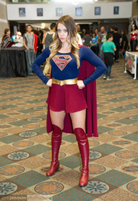 AZ Supergirl as Supergirl