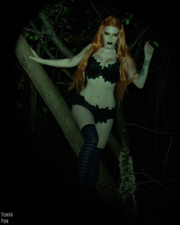 Toxik Fox Cosplay as Poison Ivy/Witch