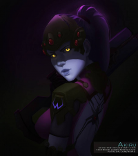 Widowmaker from Art of Akiru