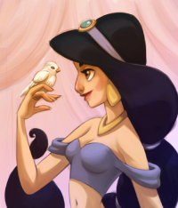 Princess Jasmine from Amanda Dockery