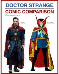 Doctor Strange from Accurate.mcu