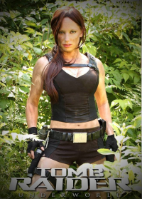 CosplayCandy as Lara Croft