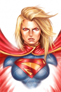 Supergirl from Amir Mohsin