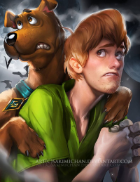 Shaggy Rogers from Sakimi Chan