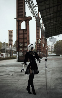 Shivaabarai Cosplay as 2B