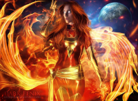 Dark Phoenix from Lu Lebel
