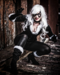 Leah Burroughs as Black Cat