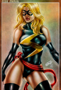 Ms. Marvel from Henrique