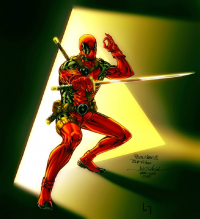 Deadpool from Spiderguile