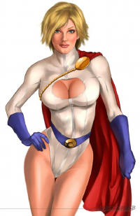Power Girl from Jeff Ng