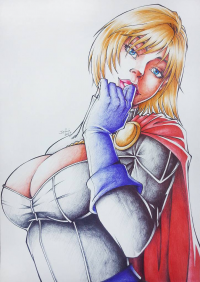 Power Girl from Jeferson Dos Santos