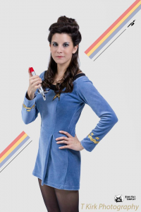 Starkat Cosplay as Starfleet Officer