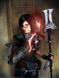 Ise Cosplay as Bethany Hawke