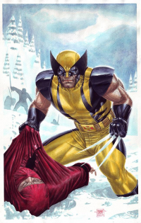 Wolverine from Edgar Tadeo