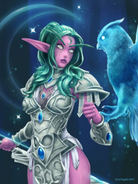 Tyrande Whisperwind from Eyal Degabli