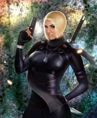 Cassie Cage from Andrei Kolosov