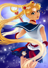 Sailor Moon from Coffeecatarts