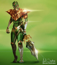 Green Power Ranger from Isaiah Stephens