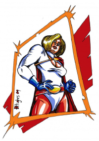 Power Girl from darkeye36