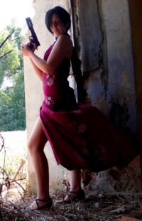 Shadow-of-Shana as Ada Wong
