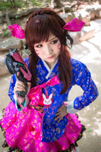 Anji as D.Va