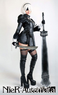 Hana's Cosplay as 2B/Bunny